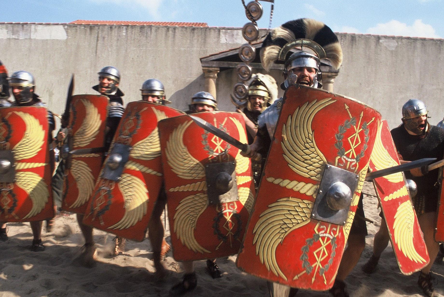 Romeinen vallen aan