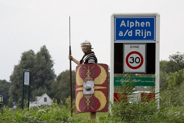 Afbeelding bij Romeins weekend Alphen a/d Rijn