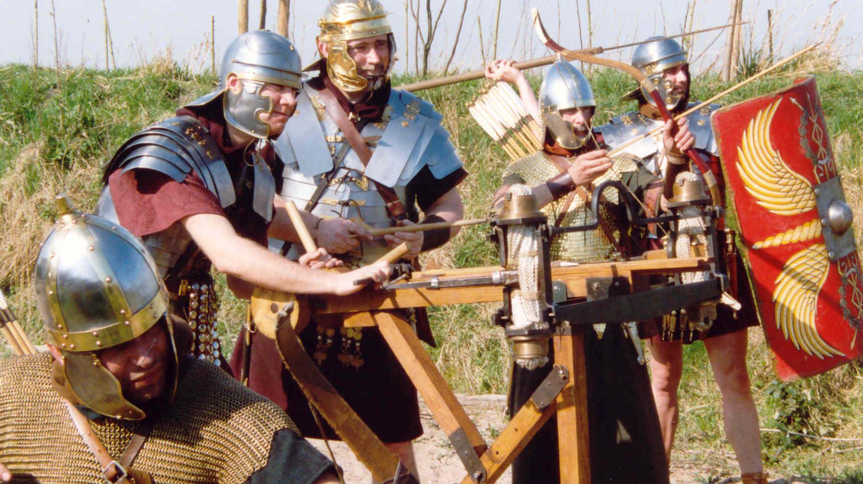 Romeinen artillerie