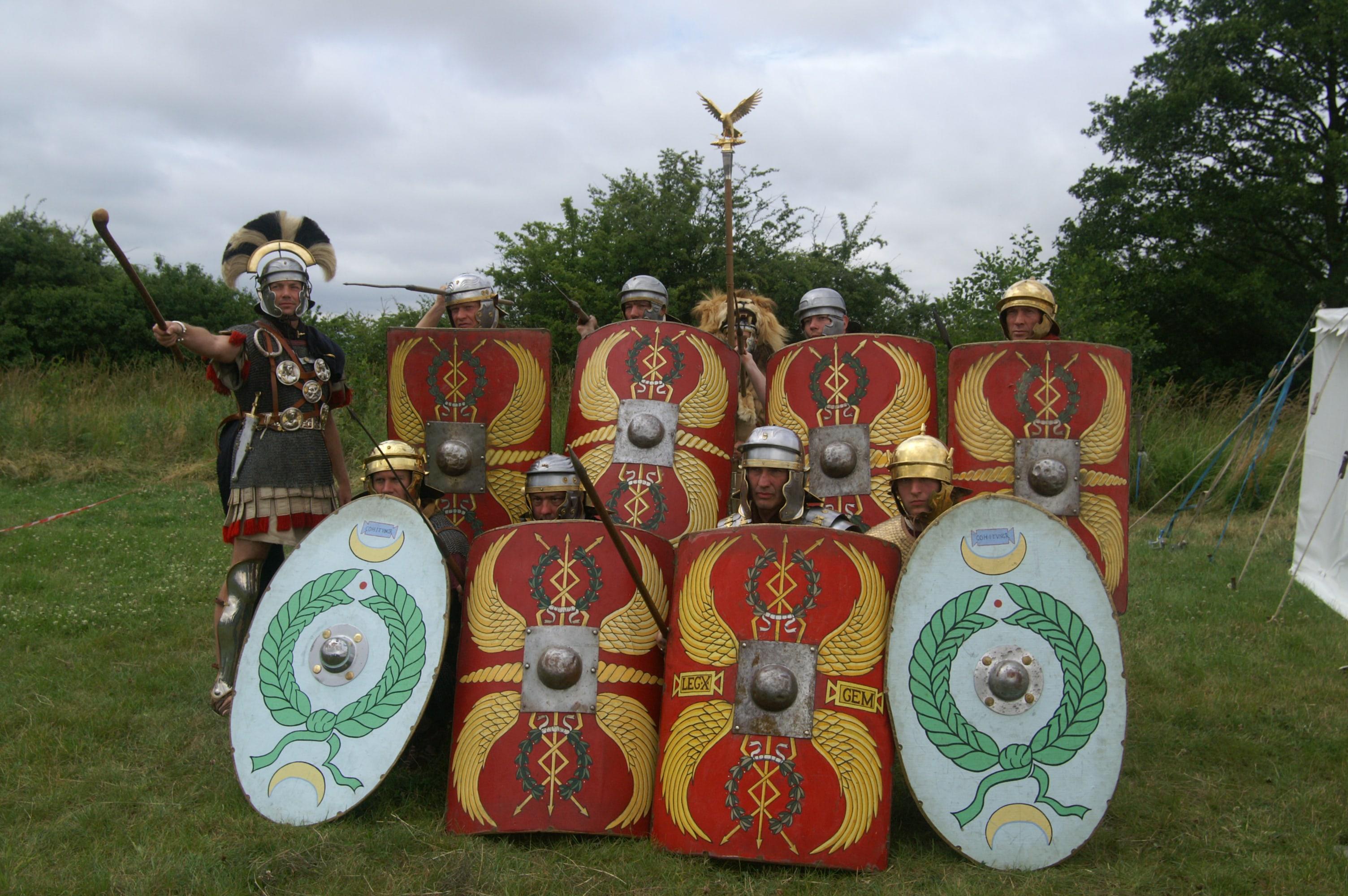 Romeinen blokkade
